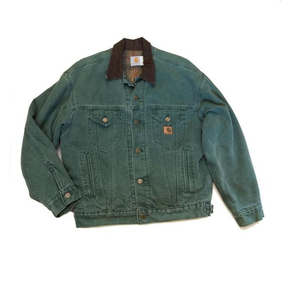 cd9bbef8006 Carhartt Jackets & Coats | Green Berwick Jacket | Poshmark